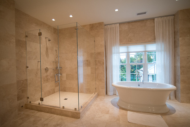 Frameless Shower Enclosures Contemporary Shower Stalls And Kits ...