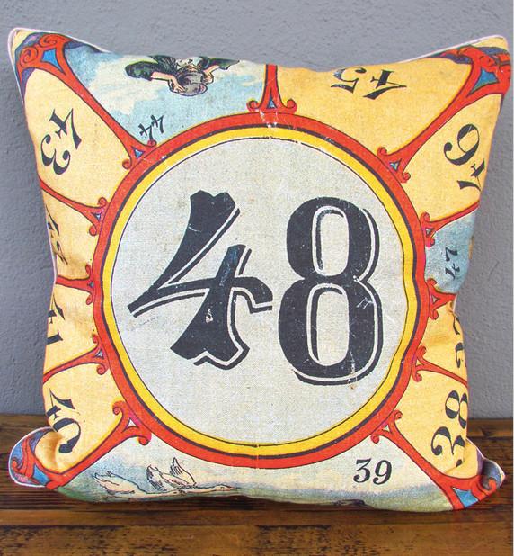 circus natural history pillow eclectic-decorative-pillows