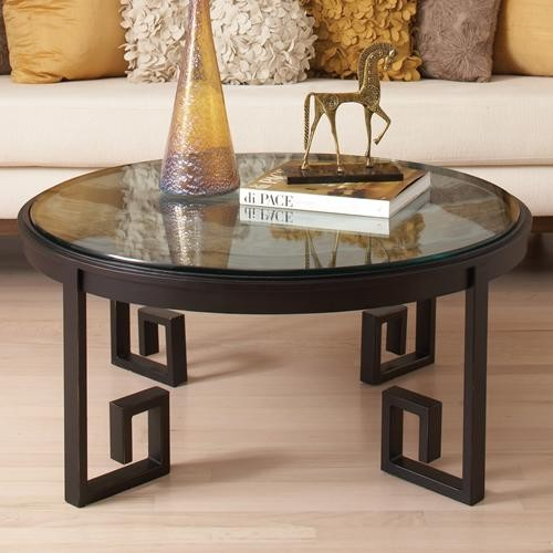 Global Views Greek Key Cocktail Table traditional-coffee-tables