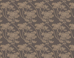 Alice Brown & Gold Wallpaper eclectic wallpaper