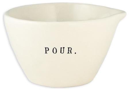 'Pour' Bowl rustic-cookware