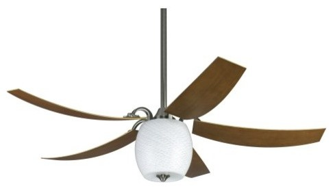 Fanimation FP7930PWW Mariano 52 in. Indoor/Outdoor Ceiling Fan - Pewter - ENERGY contemporary ceiling fans