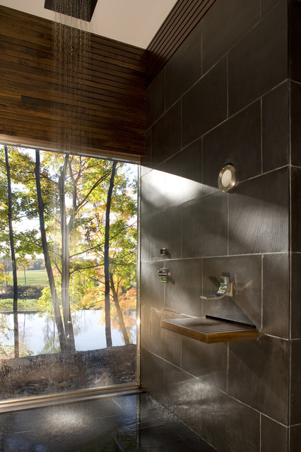 Ghent House modern-bathroom