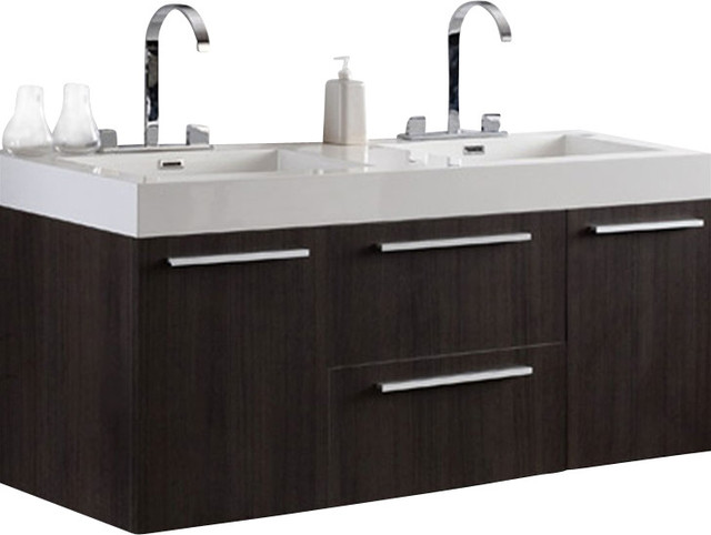 Bathroom Vanity Gray Oak Modern Bathroom Vanities And Sink Consoles