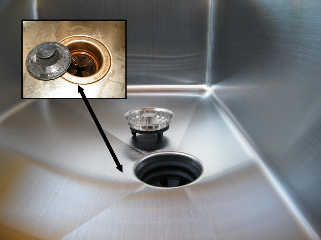 Single Bowl Undermount Kitchen Sinks contemporary-bath-products