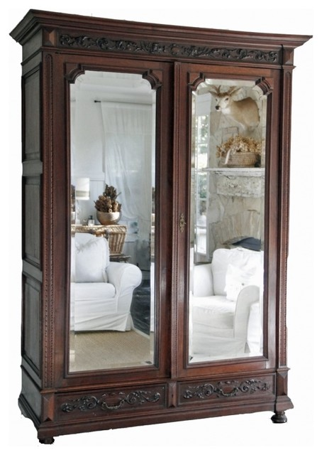 French Renaissance Armoire  Eclectic  Armoires And