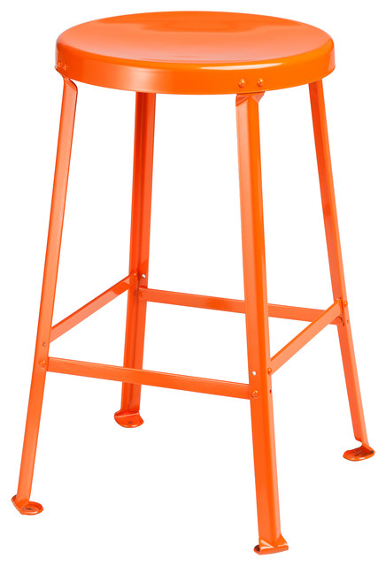 """One Ton Stool - 24"""" H contemporary-bar-stools-and-counter-stools"""