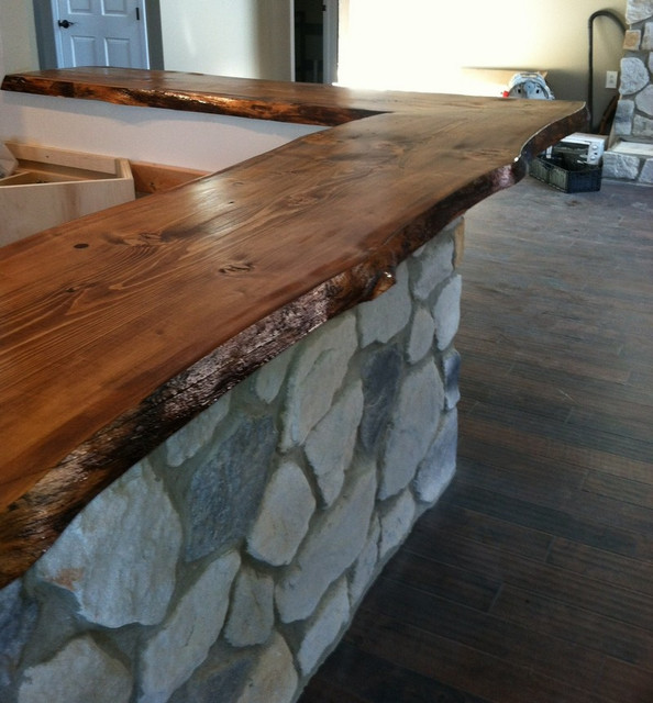 Live Edge Bar Top Modern Other Metro By