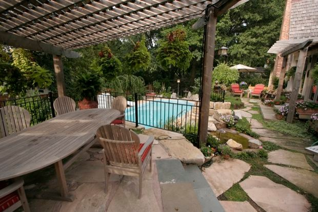 Swimming Pools and Spas traditional-pool