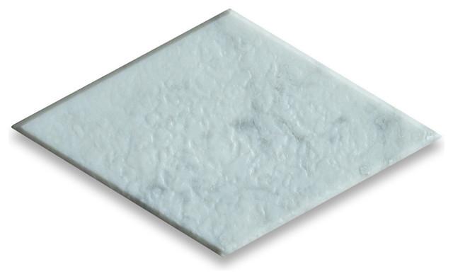 Carrara White 4 x 8 Rhomboid Diamond Tile Tumbled - Marble from Italy tile