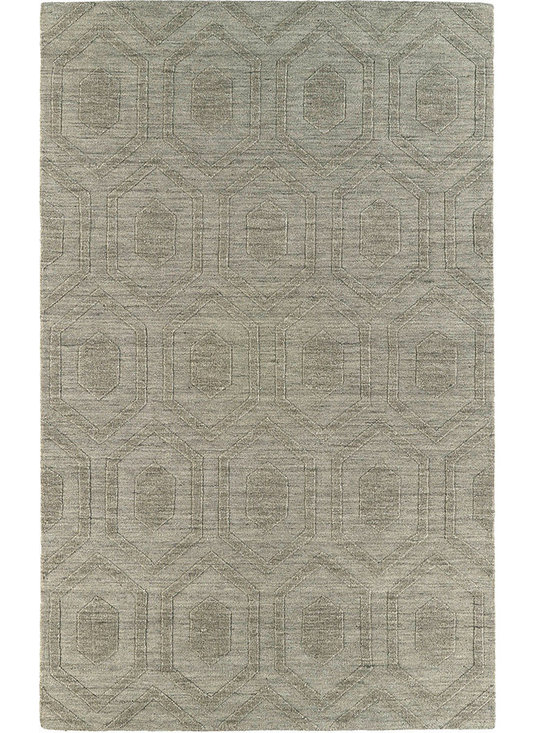 Kaleen - Imprints Modern Ipm01 Lt. Brown Rug - Imprints Modern, where textiles meet fashion. Modern textile designs and todays hottest colors combine to meet the new evolution of this beautiful collection. Straight off the runway and into your home each rug is handmade in India of 100% Virgin Wool.