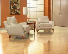 Maple Engineered Floor contemporary-hardwood-flooring