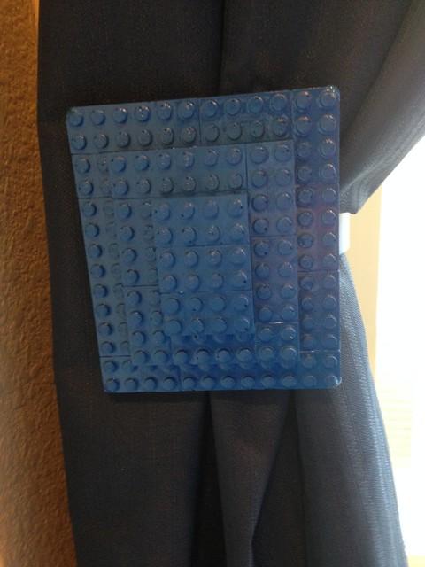Blue Lego Curtain Holdbacks Modern Denver By Holdbax Com