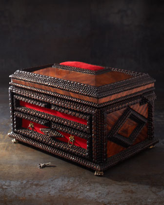 Jewelry Box, c. 1850 traditional-storage-bins-and-boxes