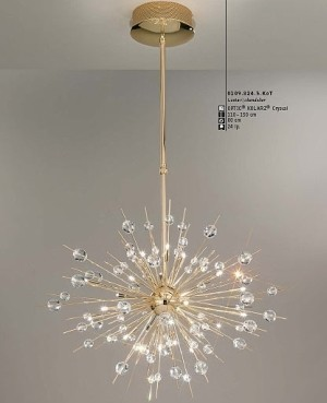 Explosion Chandelier Small Catalog Featured Modern