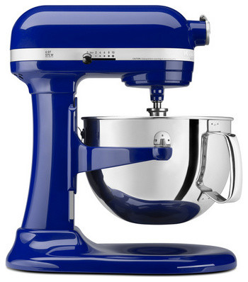 kitchenaid cobalt blue 6 quart pro 600 bowl lift stand