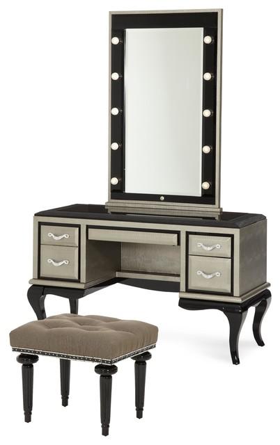 traditional bedroom makeup vanities by ba furniture stores