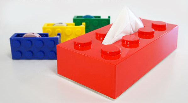 Block Tissue Box eclectic kids decor