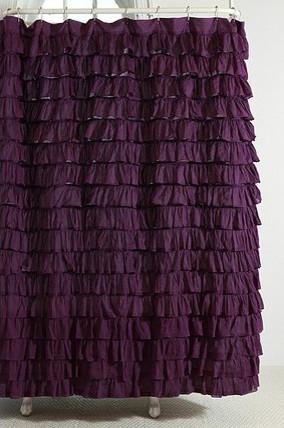 Waterfall Ruffle Shower Curtain shower-curtains