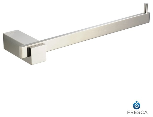 fresca ellite bathroom towel ring modern towel bars and hooks by