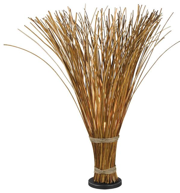Sheaf Natural Reed Floor Lamp