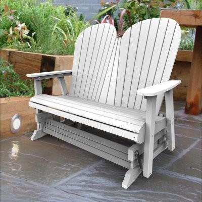 Malibu Outdoor Living Adirondack Double Glider modern-outdoor-chairs