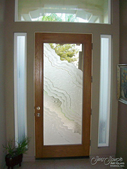 Glass Front Doors Glass Entry Doors Sandblast Frosted