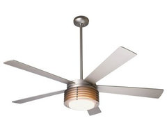 Pharos Ceiling Fan with Light by Modern Fan Company contemporary-ceiling-fans