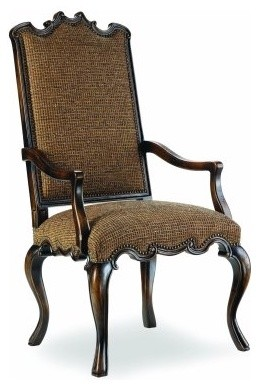 Canterbury Dining Arm Chair - Ebony modern-dining-chairs