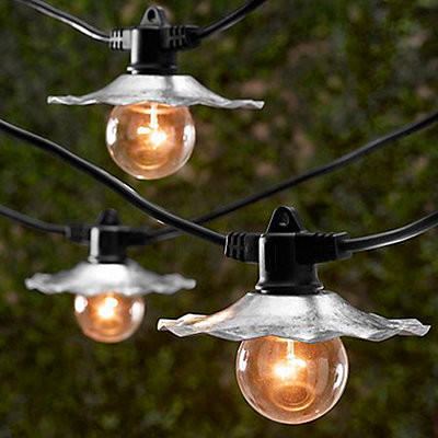 Café String Lights - contemporary - outdoor lighting - by Ballard