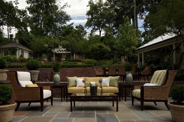 Wicker Patio Furniture Sets Mediterranean Birmingham