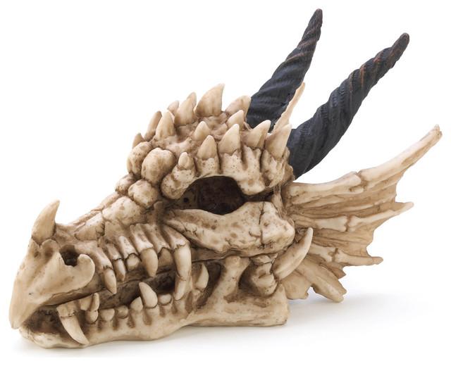 Dragon Skull Treasure Box contemporary-storage-bins-and-boxes