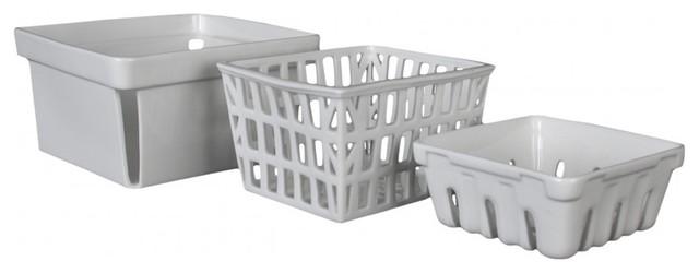 Farmers Market Baskets modern-baskets
