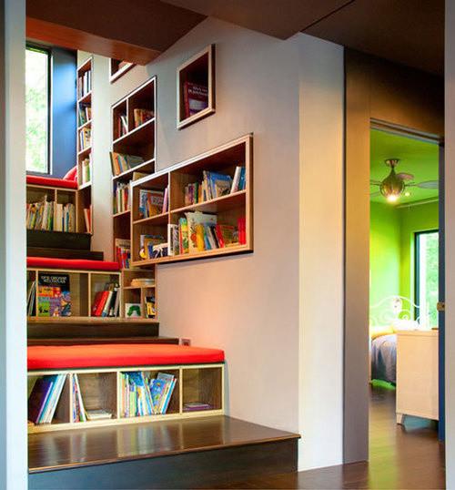 Bookshelf Porn modern