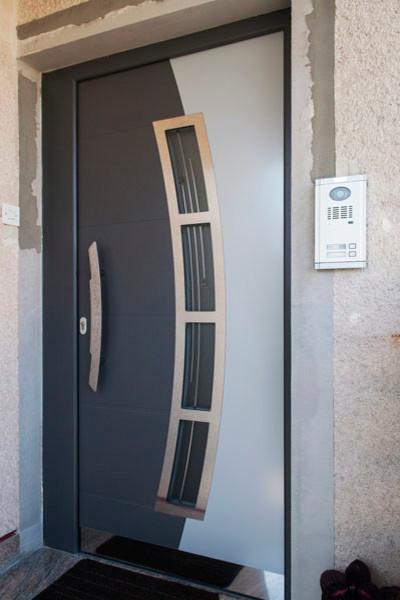 Modern Aluminum Front Entry Door - Modern - Front Doors - new york - by Ville Doors