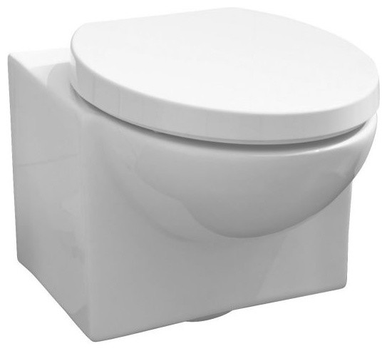Vitra Espace Wall Hung Toilet Suite contemporary toilets