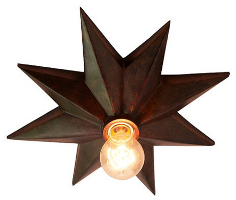 Star Ceiling Mount traditional-onlays-and-appliques