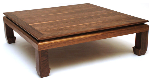 Ming Coffee Table Square Asian Coffee Tables Kansas City By Belak Woodworking Llc