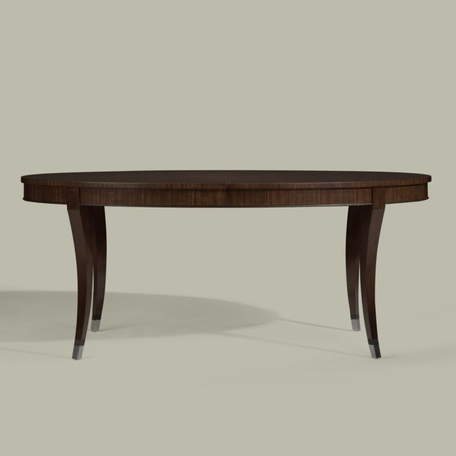 modern glamour hathaway table traditional dining