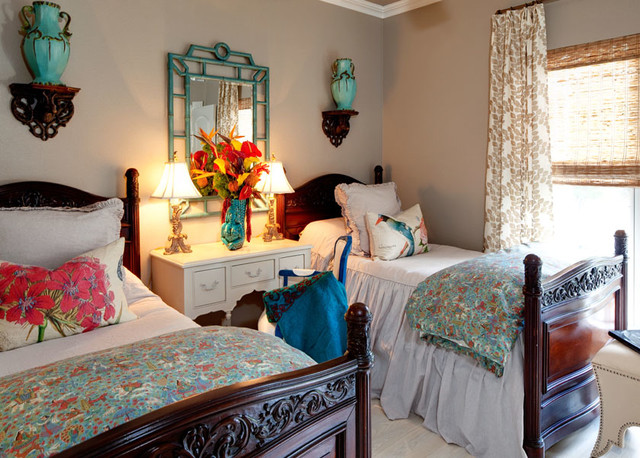 Casa Escondida eclectic-bedroom