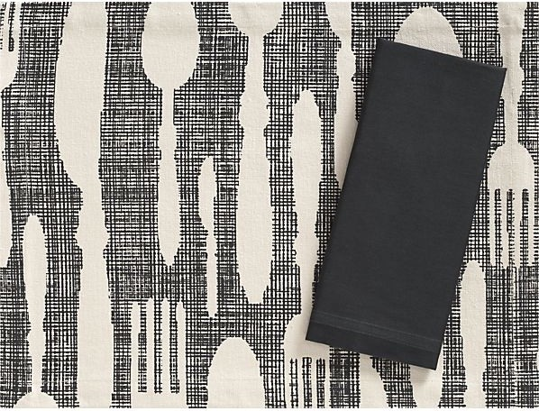 contemporary table linens by Crate&Barrel