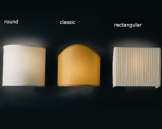 Vanity Wall Lamp by Penta Light - Vanity Wall Lamp by Penta Light. Wall lamps with metal structure covered with the fabrics of the collection. Wall support. Vanity Wall Lamp by Penta Light are designed by Penta.