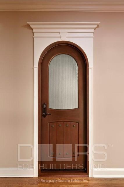 Solid wood entry doors doors for builders inc for Mediterranean interior doors