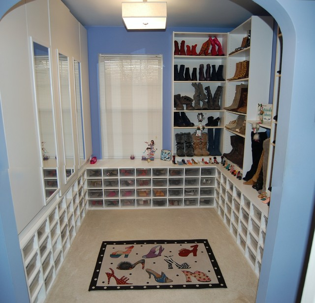 The Shoe Closet! eclectic 