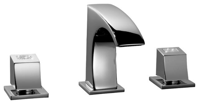 3 Hole Bathroom Faucet single handle bathroom faucet chrome - door, knobs & handle home