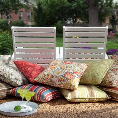 Atrium 20 x 20 Outdoor Toss Pillow - Set of 2 Zoe Spice