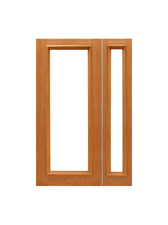 "Prehung 1-lite-R/M French Brazilian Mahogany IG Glass Sidelight Door - SKU#    1-lite-R/M-Ext-1-1Brand    AAWDoor Type    FrenchManufacturer Collection    Mahogany French DoorsDoor Model    Door Material    WoodWoodgrain    MahoganyVeneer    Price    1468Door Size Options    [30""+14"" x 80""] (3'-8"" x 6'-8"")  $0[30""+18"" x 80""] (4'-0"" x 6'-8"")  +$10[36""+14"" x 80""] (4'-2"" x 6'-8"")  $0[36""+18"" x 80""] (4'-6"" x 6'-8"")  +$10[42""+14"" x 80""] (4'-8"" x 6'-8"")  +$50[42""+18"" x 80""] (5'-0"" x 6'-8"")  +$60[30""+14"" x 96""] (3'-8"" x 8'-0"")  +$226[30""+18"" x 96""] (4'-0"" x 8'-0"")  +$236[36""+14"" x 96""] (4'-2"" x 8'-0"")  +$226[36""+18"" x 96""] (4'-6"" x 8'-0"")  +$236[42""+14"" x 96""] (4'-8"" x 8'-0"")  +$316[42""+18"" x 96""] (5'-0"" x 8'-0"")  +$326Core Type    SolidDoor Style    Door Lite Style    Full Lite , 1 LiteDoor Panel Style    Raised Moulding , Ovolo StickingHome Style Matching    Craftsman , Colonial , Cape Cod , VictorianDoor Construction    Engineered Stiles and RailsPrehanging Options    PrehungPrehung Configuration    Door with One SideliteDoor Thickness (Inches)    1.75Glass Thickness (Inches)    1/2Glass Type    Double GlazedGlass Caming    Glass Features    Insulated , Tempered , low-E , Beveled , DualGlass Style    Clear , White LaminatedGlass Texture    Clear , White LaminatedGlass Obscurity    No Obscurity , High ObscurityDoor Features    Door Approvals    FSCDoor Finishes    Door Accessories    Weight (lbs)    510Crating Size    25"" (w)x 108"" (l)x 52"" (h)Lead Time    Slab Doors: 7 daysPrehung:14 daysPrefinished, PreHung:21 daysWarranty    1 Year Limited Manufacturer WarrantyHere you can download warranty PDF document."