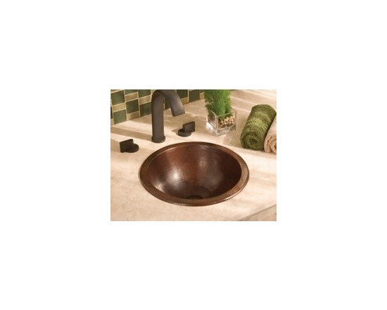 Small Round In Antique - Small Round In Antique - The simple, yet luxurious Small Round sink from Native Trails is crafted from recycled copper and hand hammered to make each sink a unique piece of art. The Small Round sink can be undermount or drop-in mounted and is available in three finishes that each will create a stunning centerpiece for your bath design.