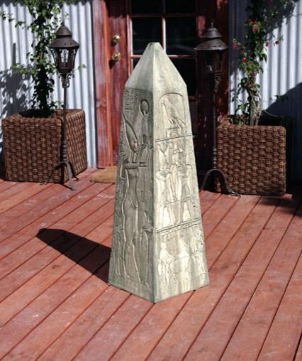 Obelisk Statue Eclectic Garden Statues And Yard Art