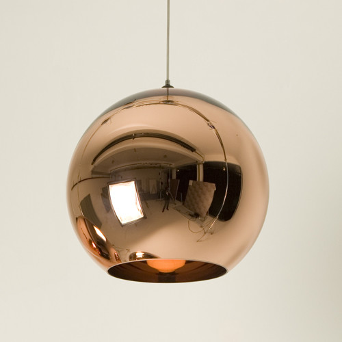Tom Dixon Copper Shade Pendant modern pendant lighting